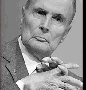 Selon un sondage Odoxa-dentsu consulting pour franceinfo et Le Figaro publié ce mercredi à l'occasion du 60e anniversaire de la Ve République, François Mitterrand est le meilleur Président de ces quarante dernières années.