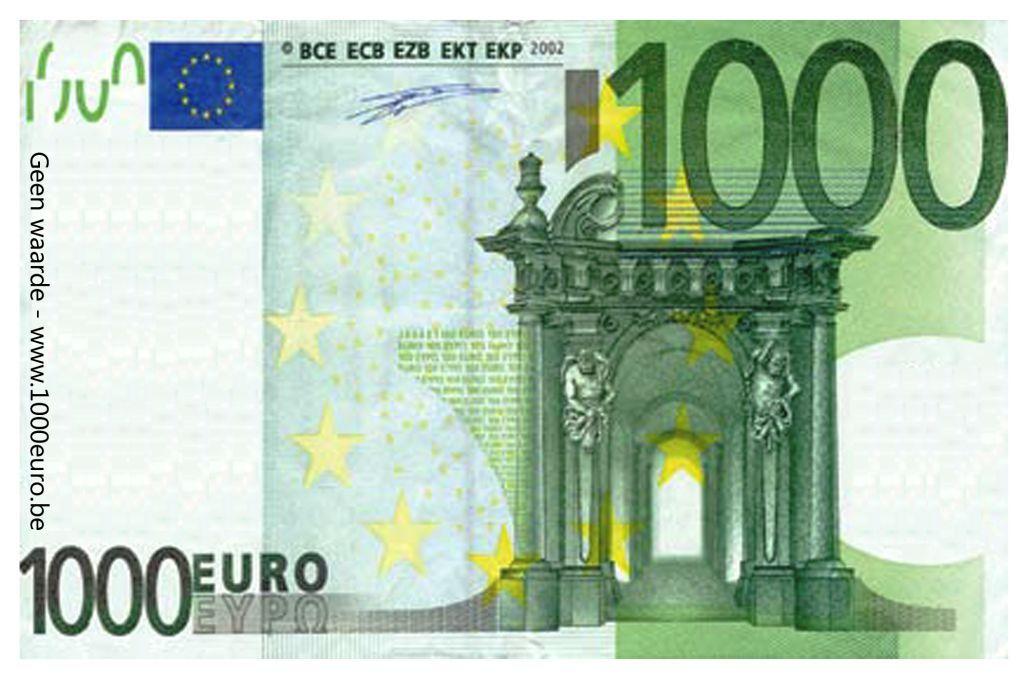 billet de 3000 euros