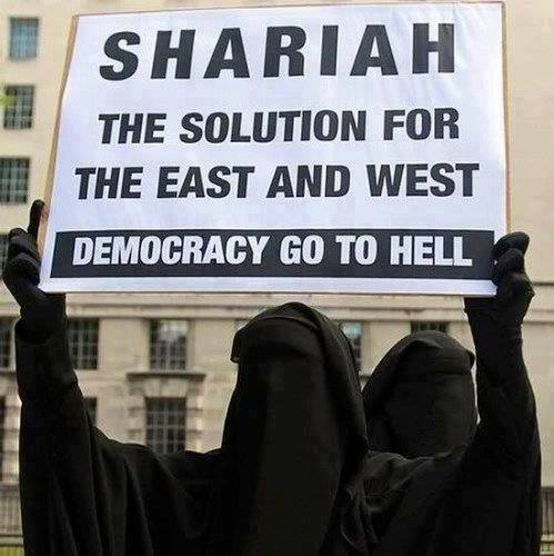 sharia-says-democracy-go-to-hell