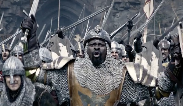 King Arthur L Acteur Noir Djimon Hounsou Incarnera Un Chevalier De La Table Ronde Les