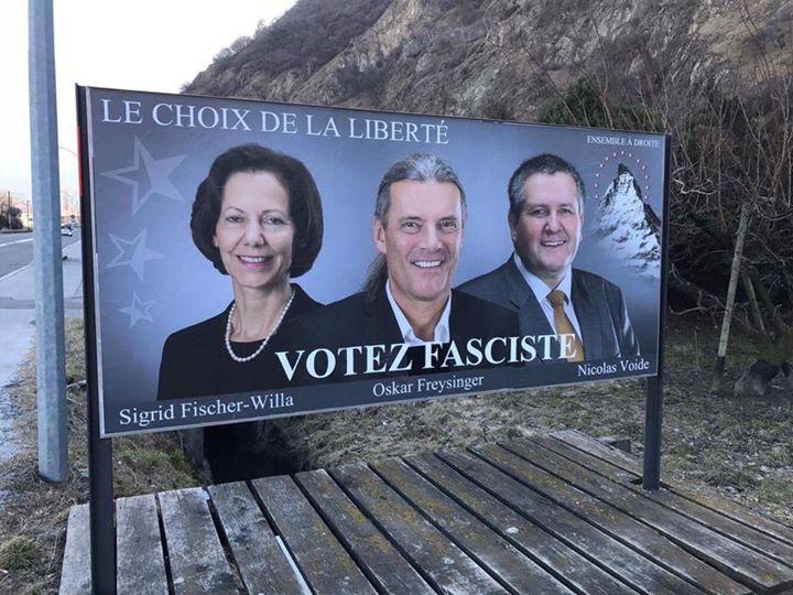 votez-fasciste