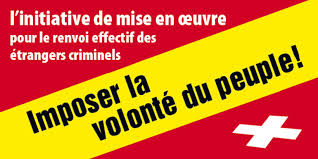 Criminels EtrangersVotation28.2.16Affiche UDC