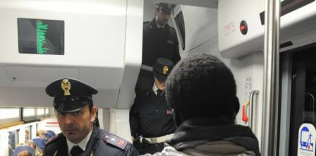 train italie immigration